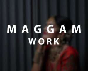 Maggam works